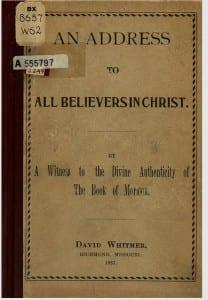 54 David Whitmer Address