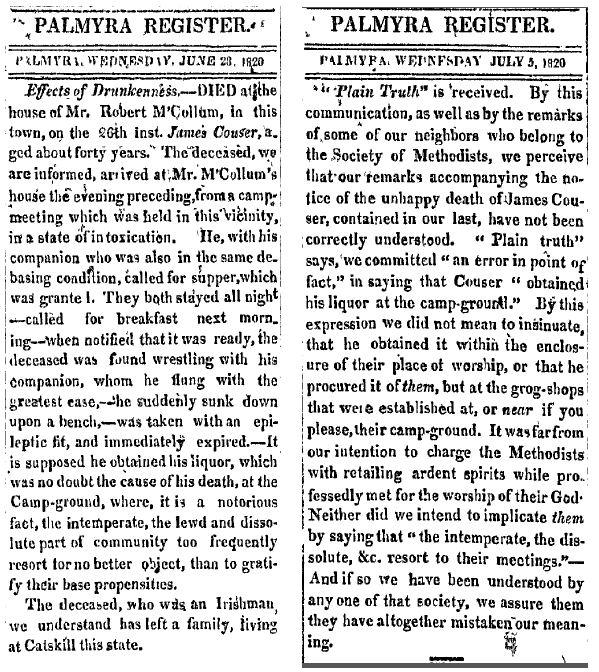 Palmyra_register_28_June_and_5_July_1820_drunken_man_dies_at_camp_meeting