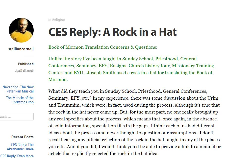 CES Reply