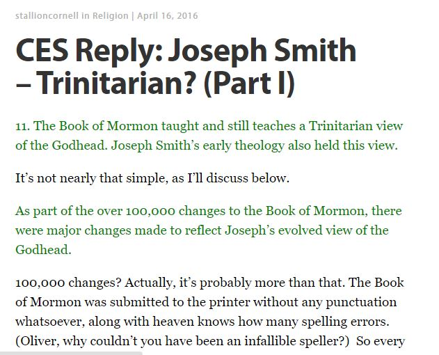 Trinitarian 1