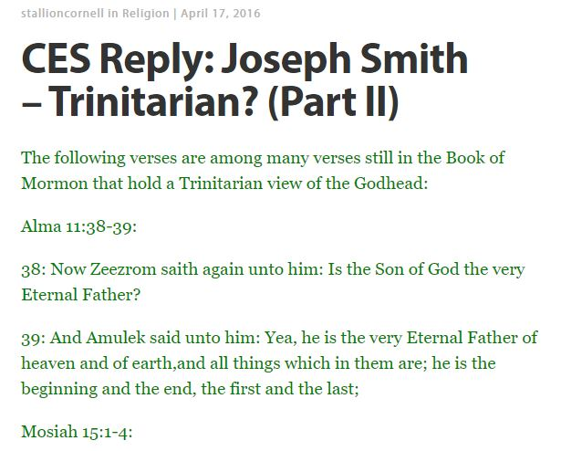 Trinitarian 2