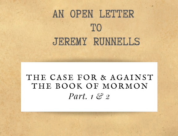 An Open Letter to Jeremy Runnells